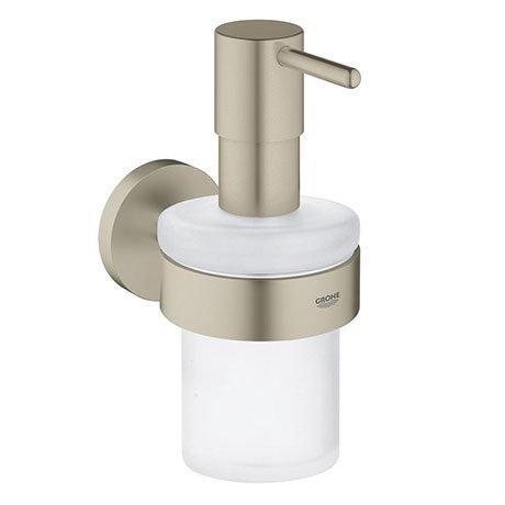 Grohe Essentials Soap Dispenser with Holder - Brushed Nickel - 40448EN1