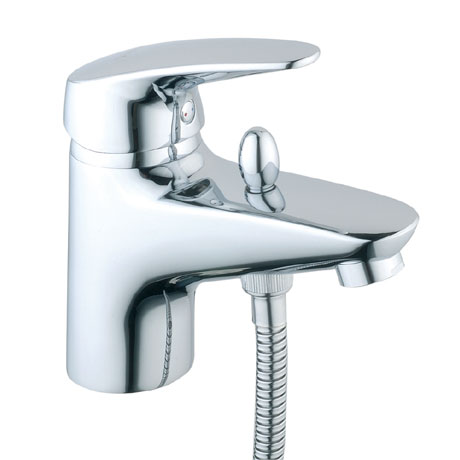 Vitra - Armix V3 Monobloc Bath Shower Mixer with Kit - Chrome - 40450