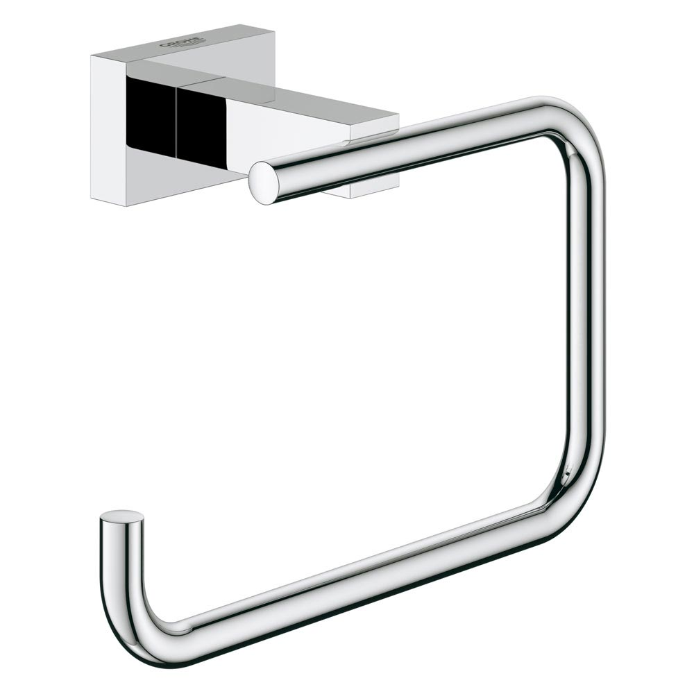 Grohe Essentials Cube Toilet Roll Holder - 40507001 Large Image