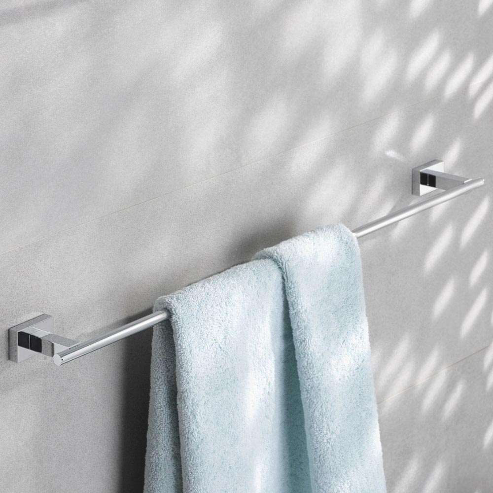 Grohe Essentials Cube 600mm Towel Rail - 40509001 profile large image view 2
