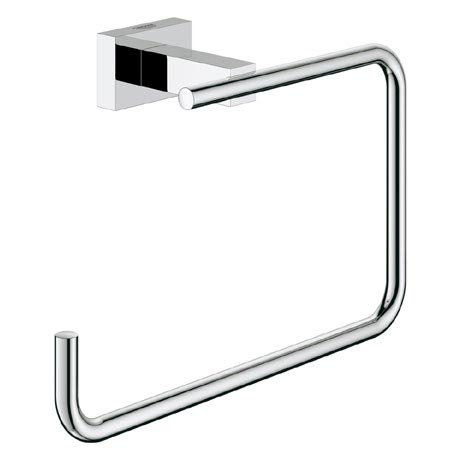 Grohe Essentials Cube Towel Ring - 40510001