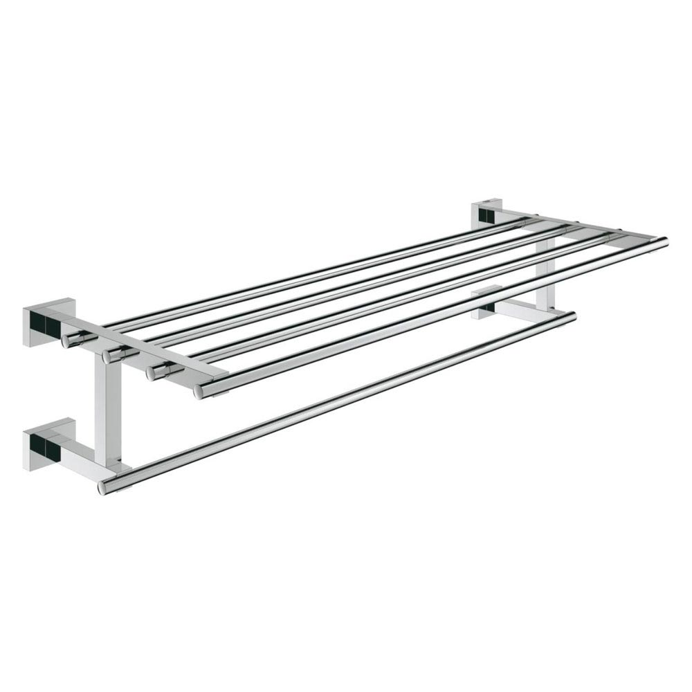 Grohe Essentials Cube 600mm Multi Towel Rack - 40512000 Large Image
