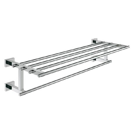 Grohe Essentials Cube 600mm Multi Towel Rack - 40512000