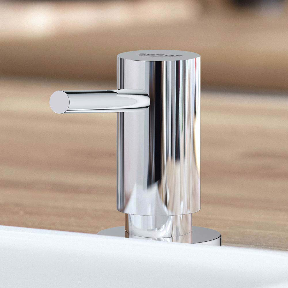 Grohe Cosmopolitan Soap Dispenser - Chrome - 40535000 profile large image view 2