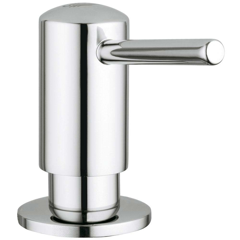 Grohe Contemporary Soap Dispenser - Chrome - 40536000 profile large image view 1