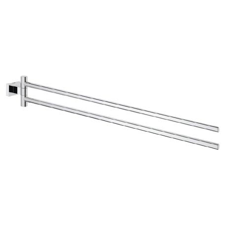 Grohe Essentials Cube Double Towel Bar - 40624001