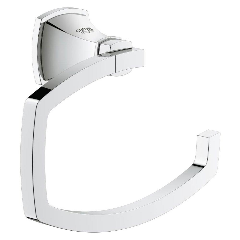 Grohe Grandera Toilet Roll Holder - Chrome - 40625000 Large Image