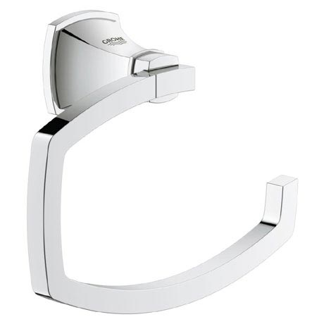 Grohe Grandera Toilet Roll Holder - Chrome - 40625000