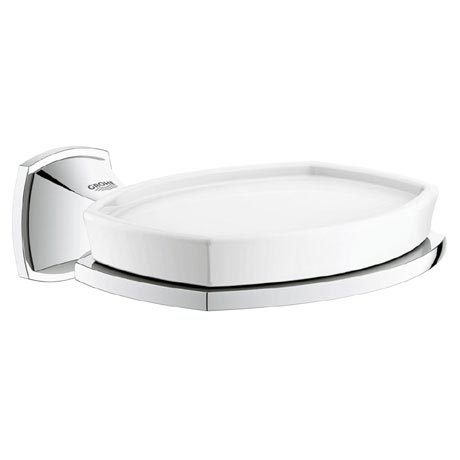 Grohe Grandera Soap Dish with Holder - Chrome - 40628000