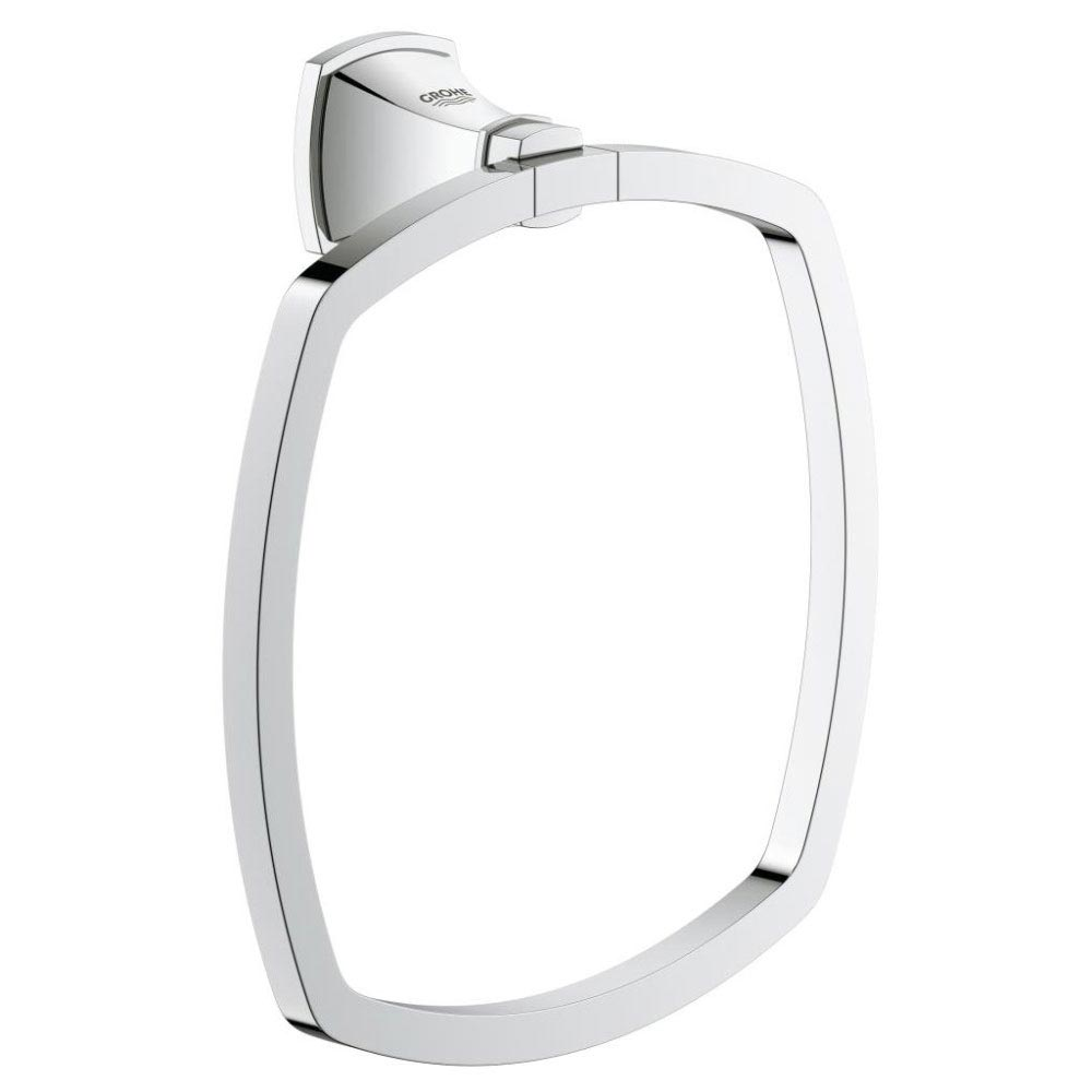 Grohe Grandera Towel Ring - Chrome - 40630000 Large Image