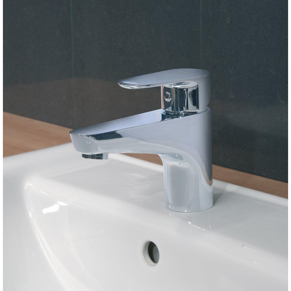 Vitra - D-Line Monobloc Basin Mixer - Chrome - 40750 profile large image view 2