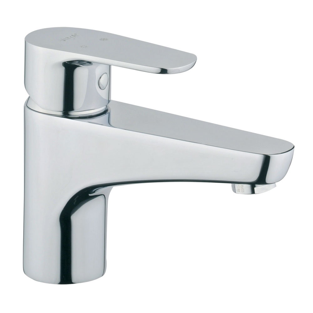 Vitra - D-Line Monobloc Basin Mixer - Chrome - 40750 Large Image