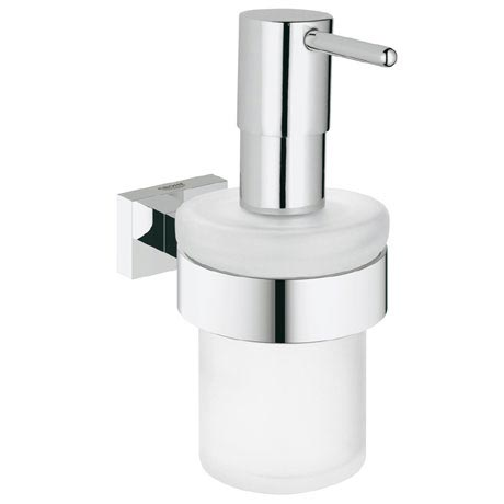 Grohe Essentials Cube Soap Dispenser and Holder - 40756001
