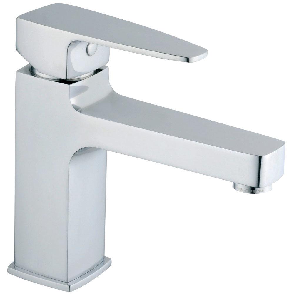Vitra - Q-Line Monobloc Basin Mixer - Chrome - 40775 Large Image