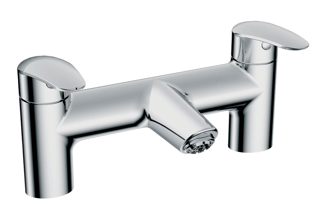 Vitra - Dynamic S Bath Filler - Chrome - 40970 profile large image view 1
