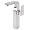 Tre Mercati - Rubik Extended Mono Basin Mixer with Click Clack Waste - 41060 profile small image view 1