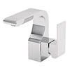 Tre Mercati - Rubik Mono Basin Mixer with Click Clack Waste - 41075 profile small image view 1