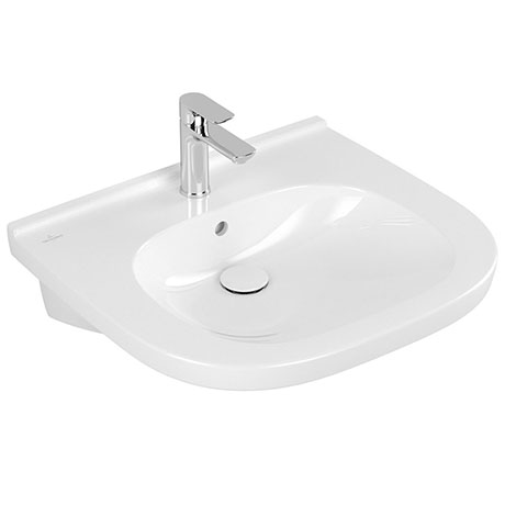 Villeroy and Boch ViCare 600mm Wheelchair Accessible Washbasin - 41196001