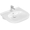 Villeroy and Boch ViCare 600mm Wheelchair Accessible Washbasin - 41196001 profile small image view 1