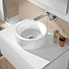 Villeroy and Boch Architectura 400 x 400mm Round Countertop Basin - 41254001 profile small image view 1