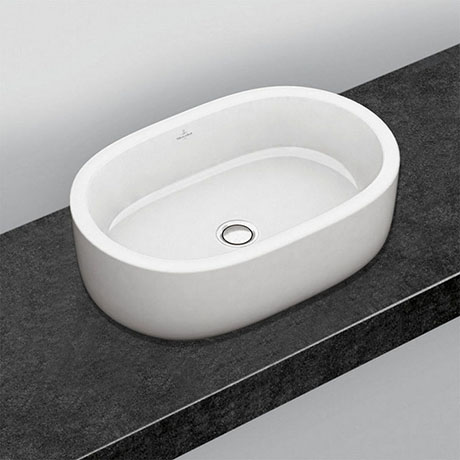 Villeroy and Boch Architectura 600 x 400mm Oval Countertop Basin - 41266001
