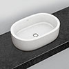 Villeroy and Boch Architectura 600 x 400mm Oval Countertop Basin - 41266001 profile small image view 1
