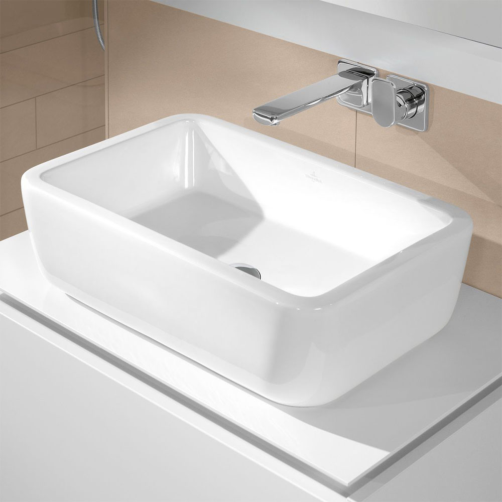 Villeroy and Boch Architectura 600 x 400mm Rectangular Countertop Basin - 41276001   Our Top 5 Stylish Counter Top Basins