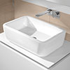Villeroy and Boch Architectura 600 x 400mm Rectangular Countertop Basin - 41276001 profile small image view 1