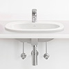 Villeroy and Boch O.novo 560 x 405mm 1TH Inset Basin - 41615601 profile small image view 1