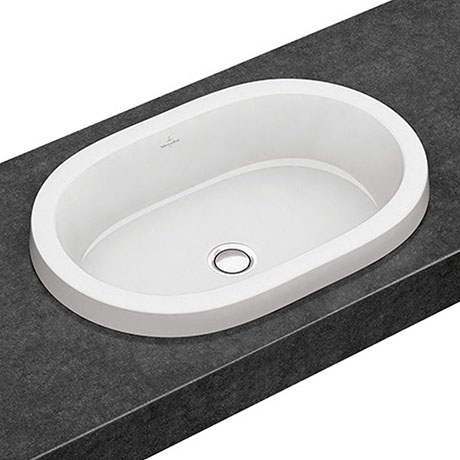 Villeroy and Boch Architectura 615 x 415mm Oval Inset Basin - 41666001