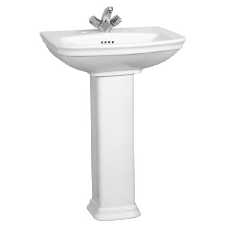 Vitra - Serenada Basin and Pedestal - 1 or 2 Tap Hole Option