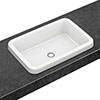 Villeroy and Boch Architectura 615 x 415mm Rectangular Inset Basin - 41676001 profile small image view 1