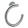hansgrohe Logis Universal Towel Ring - 41724000 profile small image view 1