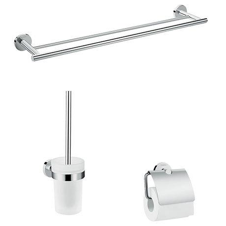 hansgrohe Logis Universal 3-Piece Bathroom Accessories Set - 41727000