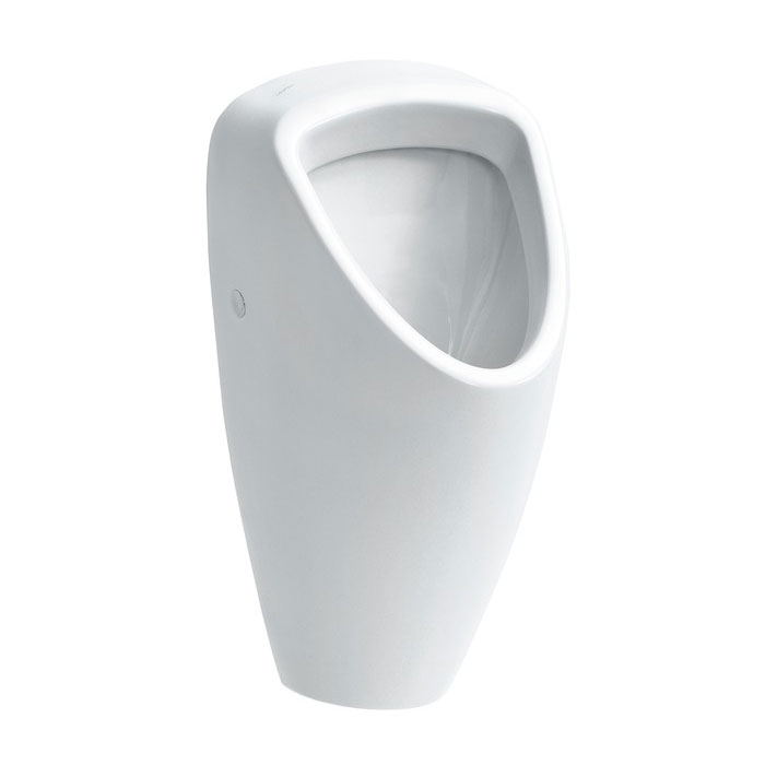 Laufen - Caprino Plus Siphonic Urinal with Concealed Water Inlet - 42061 Large Image