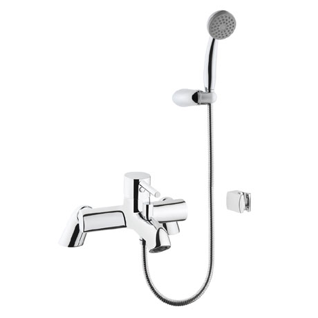 Vitra - Minimax S Bath Shower Mixer with Kit - Chrome - 42112