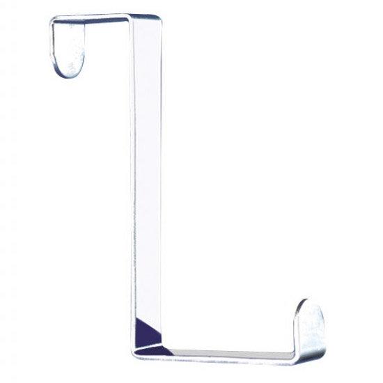 Wenko Set of 6 Stainless Steel Door Hooks - 4214062100 Feature Large Image