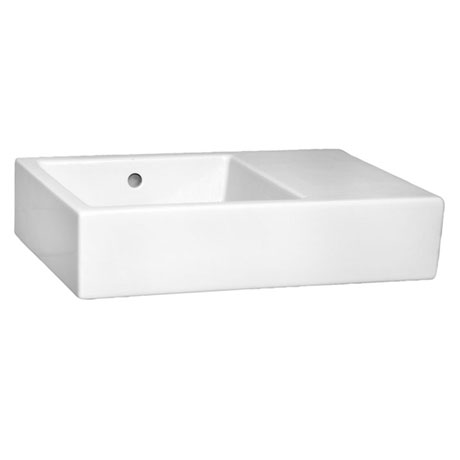 Vitra - Arkitekt K Basin with Right Hand Shelf