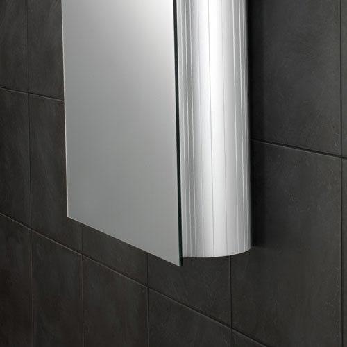 HIB Nitro Aluminium Mirror Cabinet - 42400 profile large image view 2