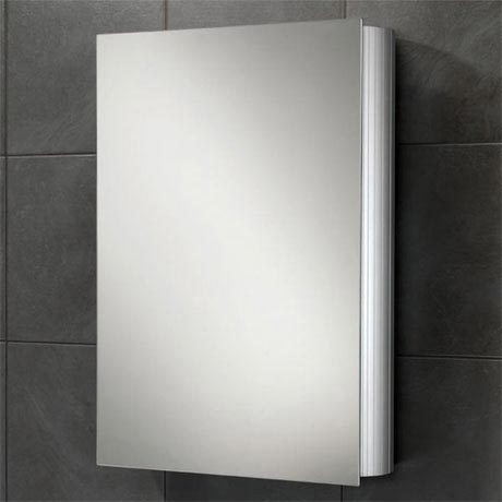 HIB Nitro Aluminium Mirror Cabinet - 42400