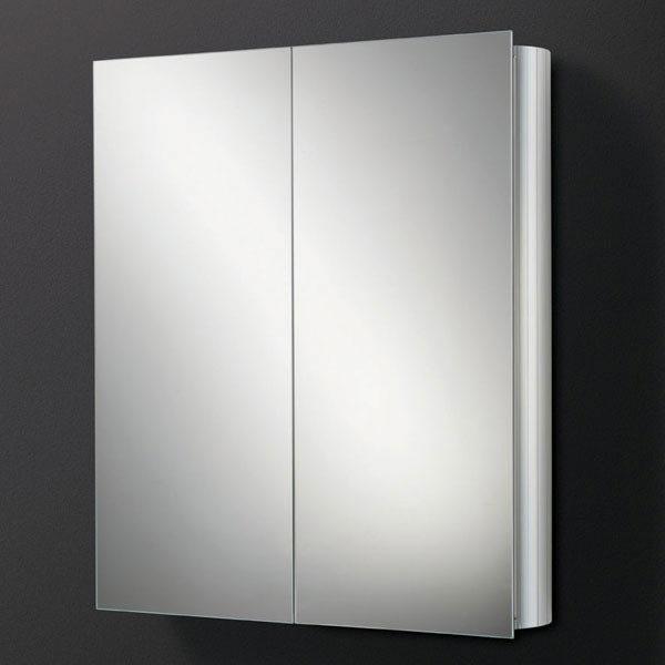 HIB Quantum Aluminium Mirror Cabinet - 42500 Large Image