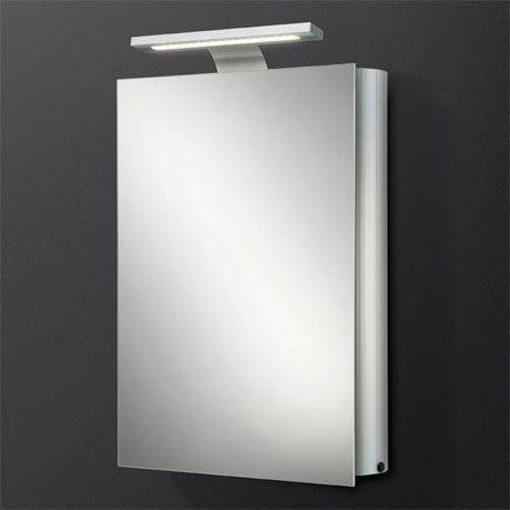 HIB Electron LED Mirror Aluminium Cabinet - 42600