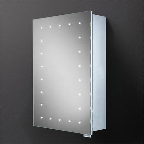 HIB Vogue LED Demisting Aluminium Mirror Cabinet - 42900