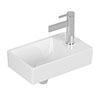 Villeroy and Boch Avento 360 x 220mm 1TH Handwash Basin profile small image view 1