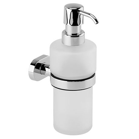Cruze Wall Mounted Soap Dispenser Holder - Chrome
