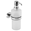 Cruze Wall Mounted Soap Dispenser Holder - Chrome profile small image view 1