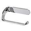 Cruze Chrome Toilet Roll Holder profile small image view 1