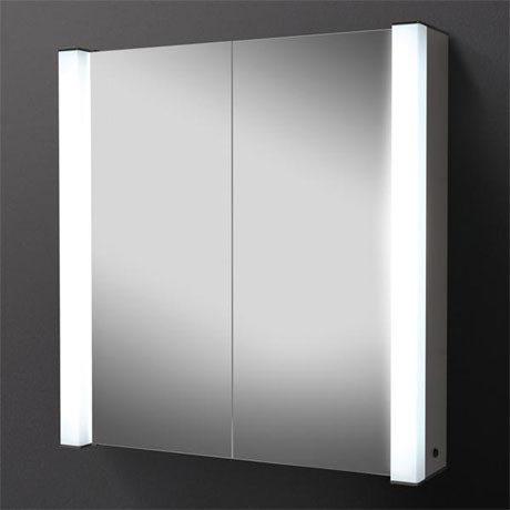 HIB Photec Fluorescent Aluminium Mirror Cabinet - 43200