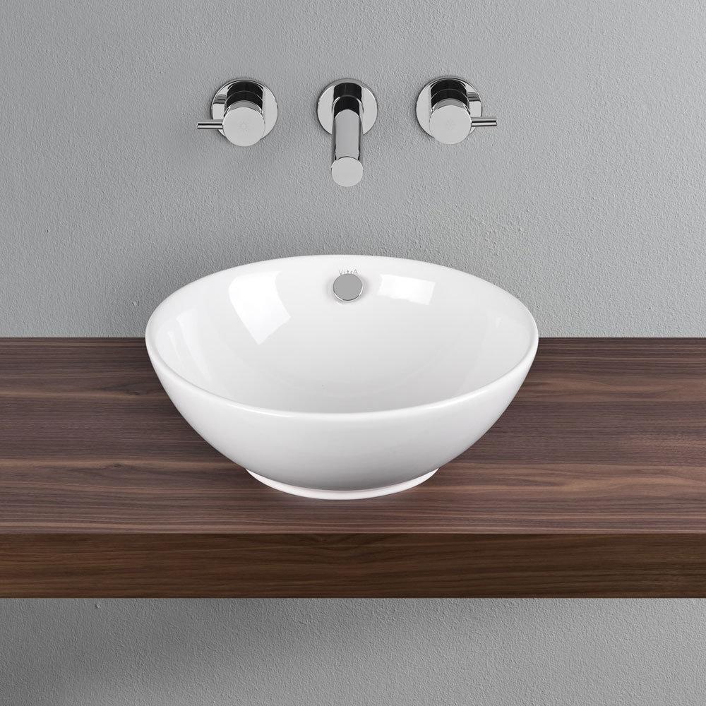 Vitra - Options 43cm Countertop Vanity Basin - 4324 Profile Large Image