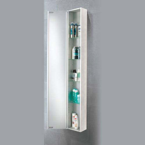 HIB Mercury Aluminium Mirror Cabinet - 43700 profile large image view 2